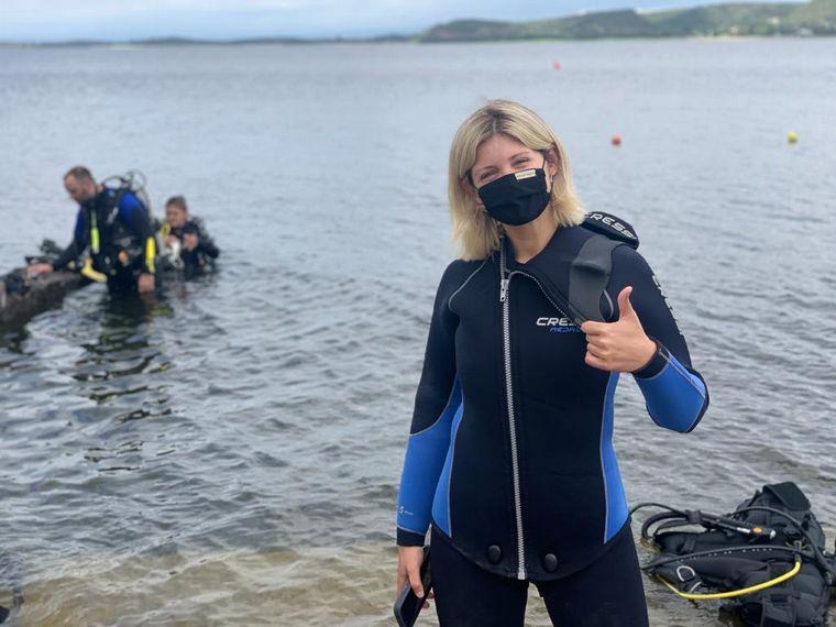 AUDIO: Buceo en Embalse, una aventura en el fondo del lago