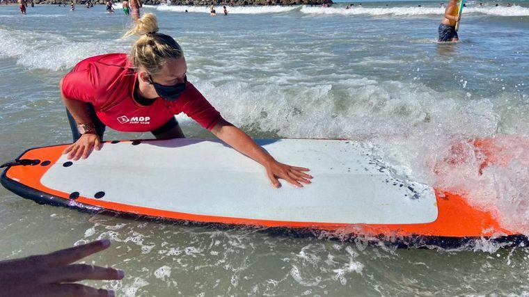 FOTO: Todo lo que tenés que saber para aprender surf en