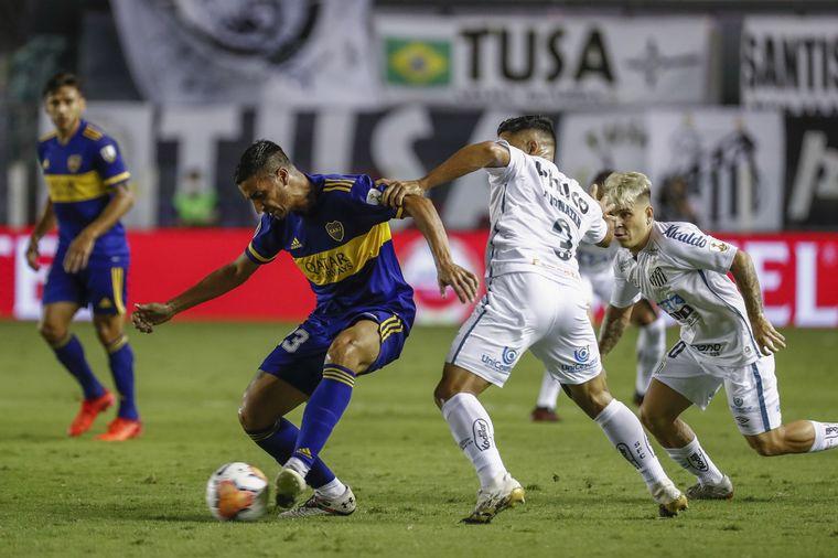 FOTO: Santos se impone firmemente ante Boca en Brasil (Foto: Santos)