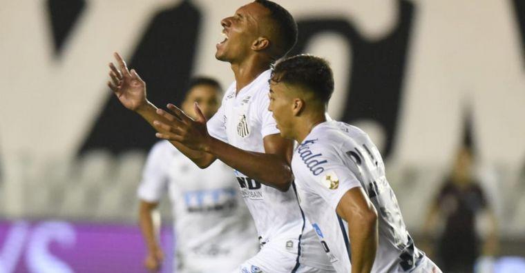 AUDIO: 3º Gol de Santos (Braga)