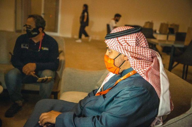 FOTO: Khalid fue el hombre que se trajo el Dakar a Medio Oriente