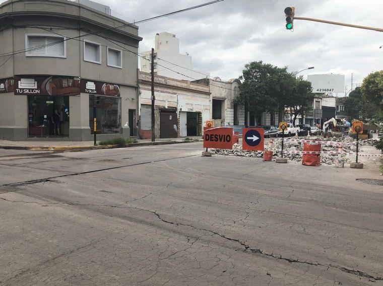 AUDIO: Comerciantes reclaman por las interminables obras en Av. Castro Barros