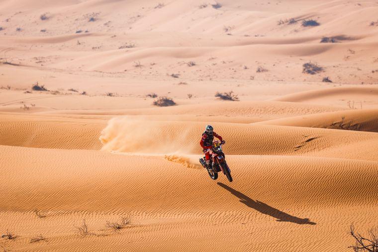 FOTO: Kevin Benavides, histórico: ganó el Rally Dakar en Motos.