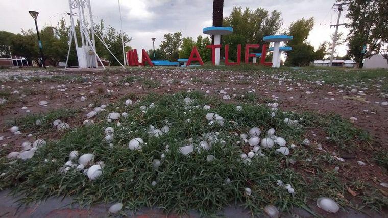 AUDIO: Fuerte tormenta azotó la localidad mendocina de San Rafael