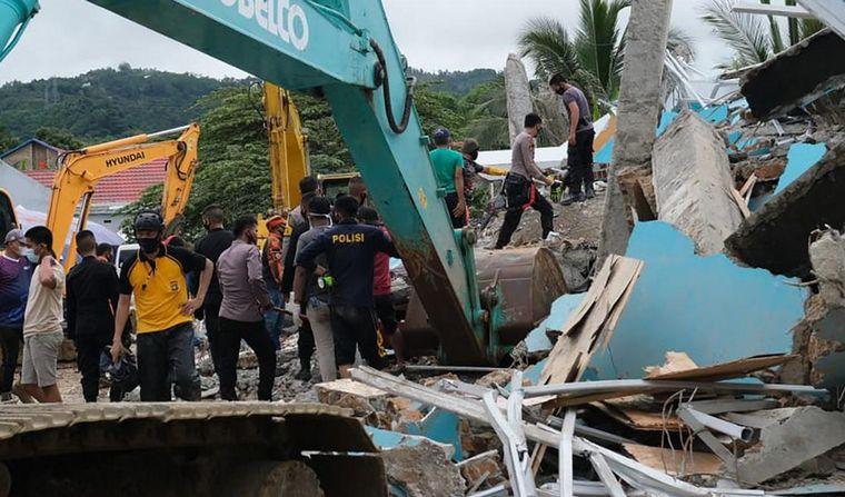 FOTO: Terremoto en Indonesia.