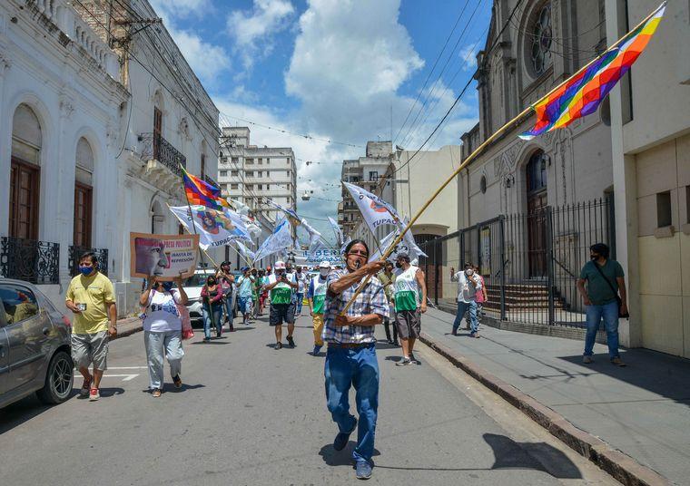 FOTO: Movilización en Jujuy y Buenos Aires para pedir por la libertad de Milagro Sala.