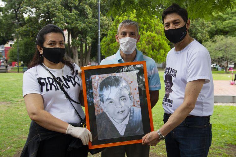 AUDIO: Colecta solidaria en honor a Fernando Baez Sosa (Foto: Maxi Failla)