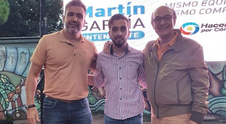 AUDIO: San Javier-Yacanto: Martín García será el nuevo mandatario