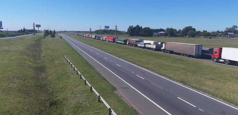 AUDIO: Santiago Carlucci,  Transportistas Unidos de Argentina