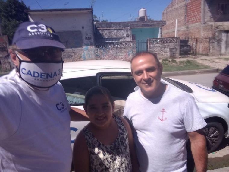 FOTO: Gustavo recibió su bordeadora y podrá trabajar
