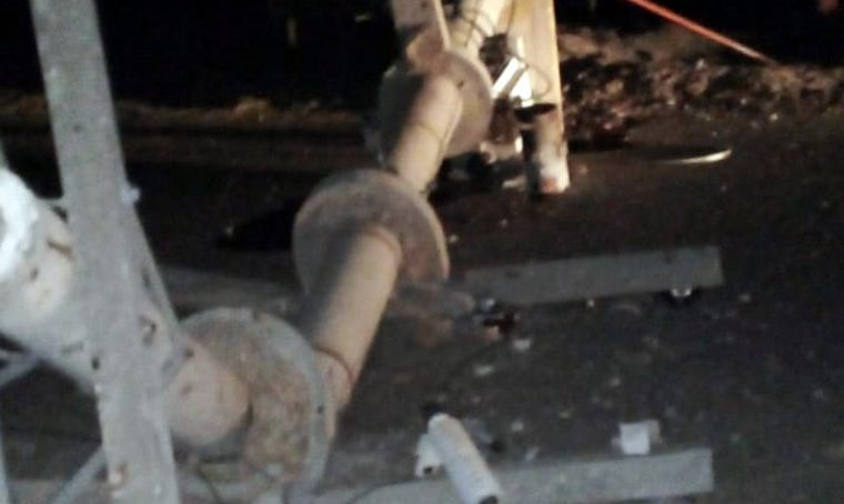 FOTO:  El sismo se registró a las 23:46:22, con una magnitud de 6.8 en la Escala de Richter