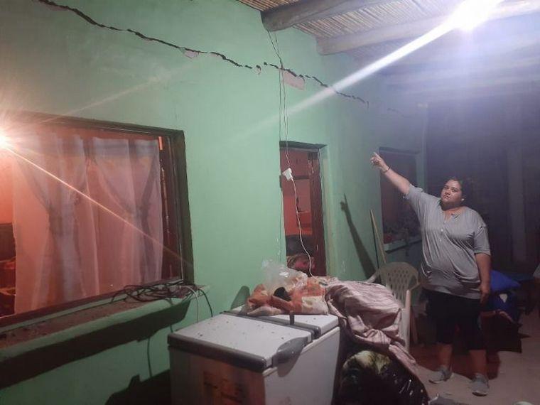 FOTO: Terremoto en San Juan. (Foto: El Tiempo de San Juan).