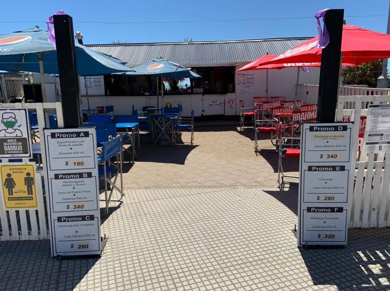 AUDIO: Cuánto vale comer en un parador de Playa Las Toscas