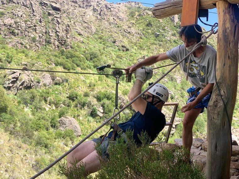 FOTO: Matías Arrieta sigue haciendo de las suyas en Traslasierra.