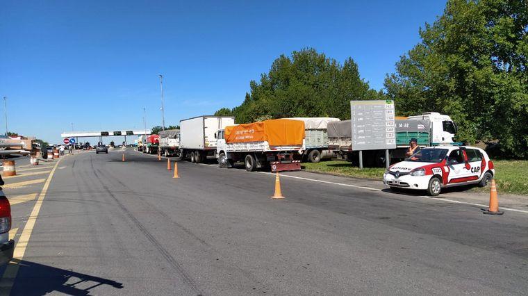 AUDIO: Santiago Carlucci, de Transportistas Unidos, reconoció que dialogan con el Gobierno