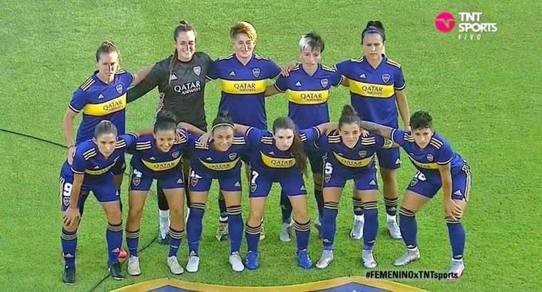 FOTO: Boca y River definen el primer campeón de fútbol femenino