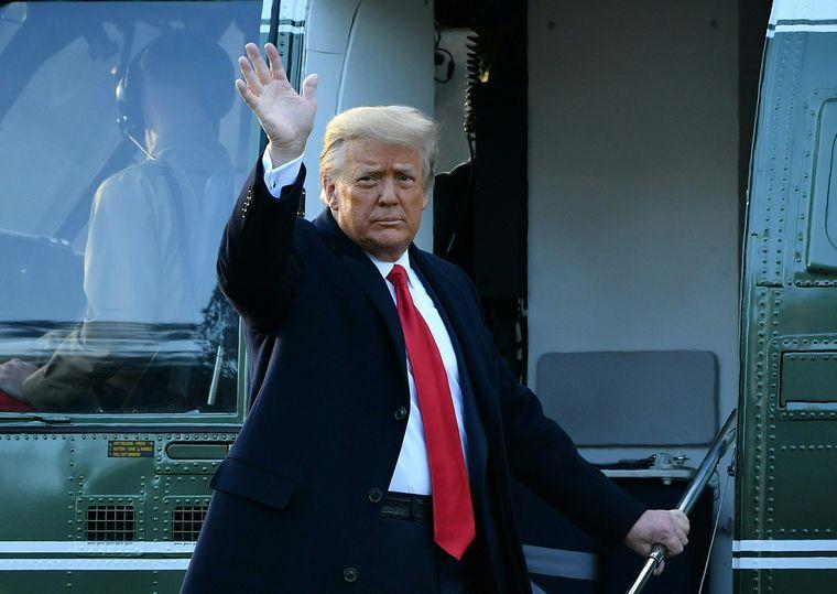 FOTO: Donald Trump abandonó la Casa Blanca