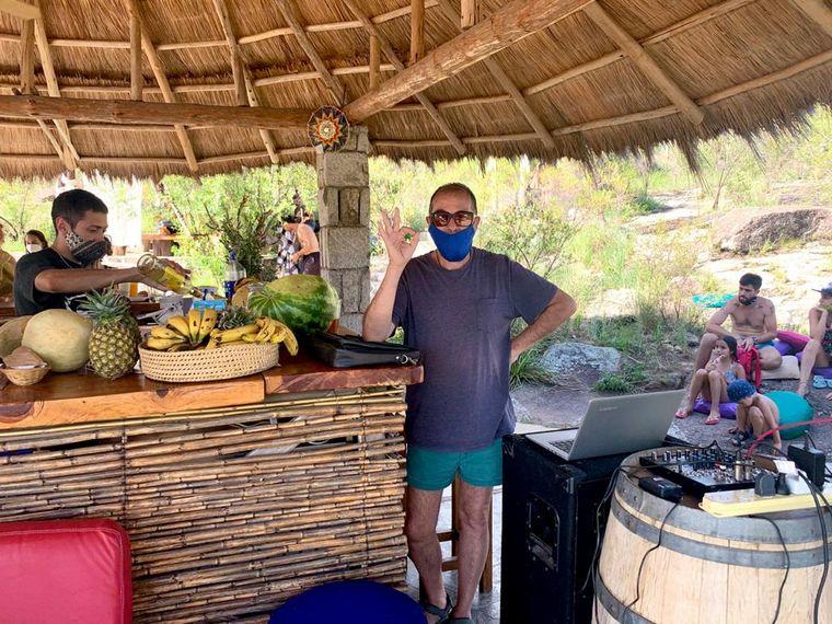 FOTO: La Kiva, el balneario de Nono con aires de Caribe