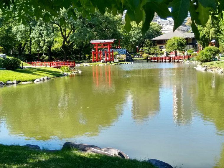 FOTO: Jardín japonés, un rincón de Japón en Argentina