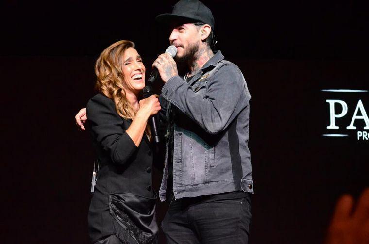 FOTO: Soledad y Ulises Bueno, juntos en Carlos Paz.