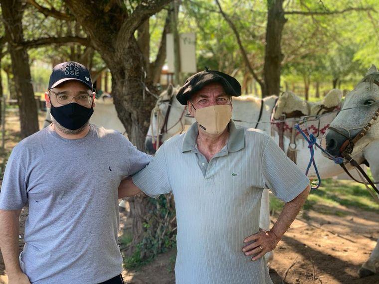AUDIO: Cabalgata serrana, otra forma de descubrir Traslasierra