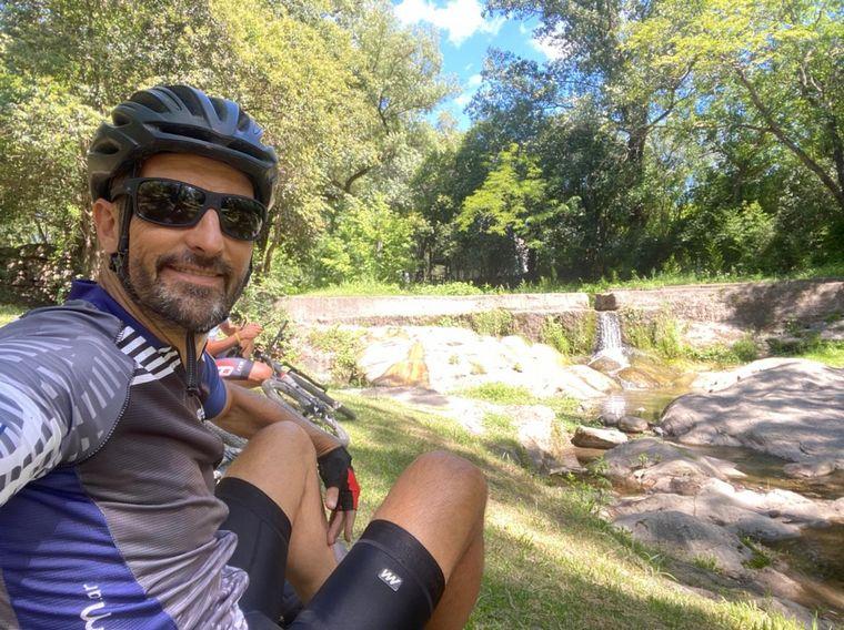 FOTO: Un recorrido en bicicleta por el Camino de los siete vados