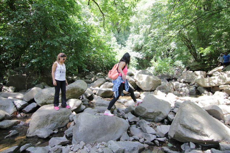 FOTO: El salto Los Pizarros, la cascada más alta de Tucumán