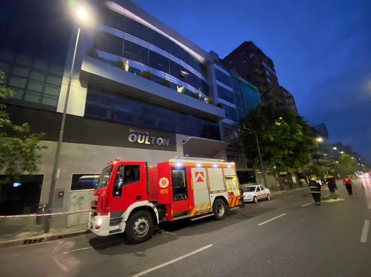 AUDIO: Sofocaron principio de incendio en la clínica Oulton