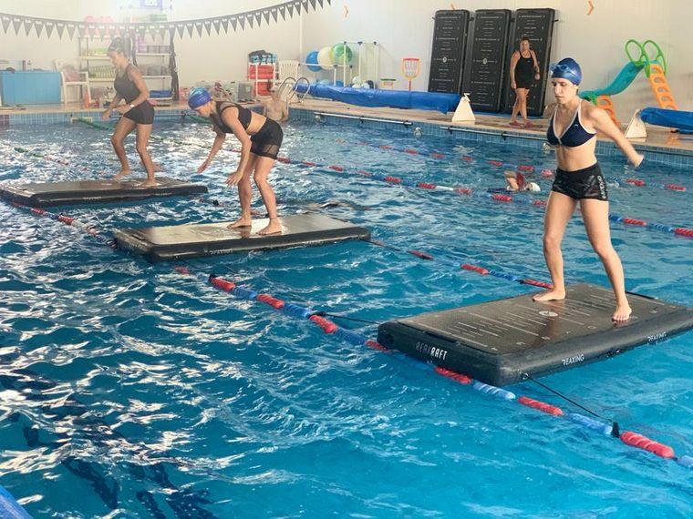 AUDIO: Mati Arrieta se puso en forma en el distrito deportivo EOS