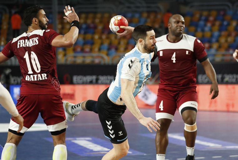 FOTO: Los Gladiadores cayeron ante Qatar y quedaron eliminados