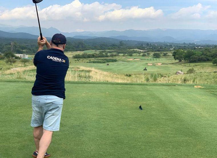 FOTO: El Terrón, paraíso del golf en Mendiolaza