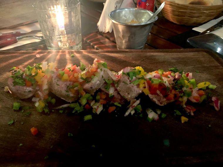 FOTO: Los Aroza, restaurante de Villa Allende.