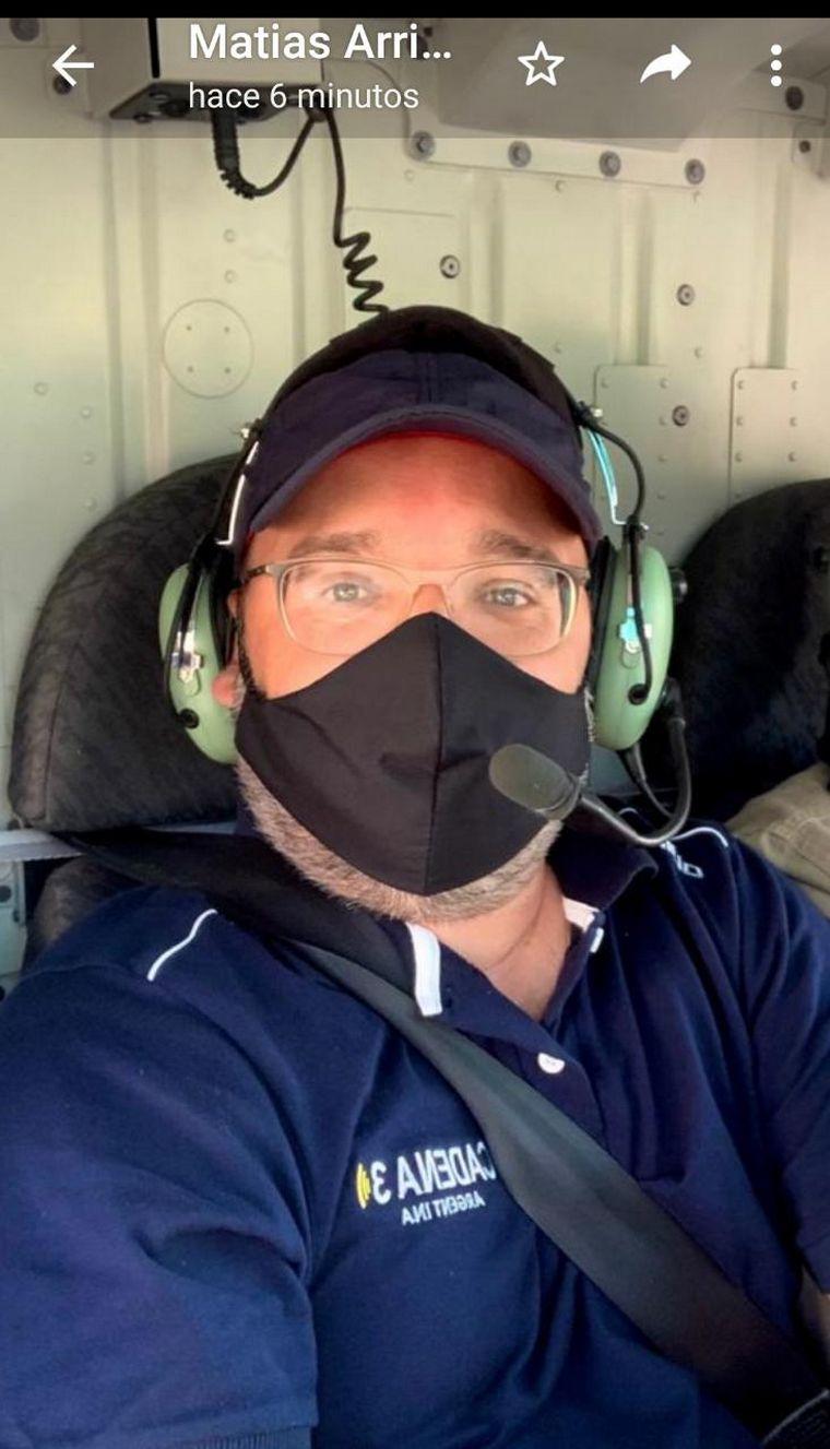 FOTO: Cambio de perspectiva: ver las Sierras Chicas en helicóptero