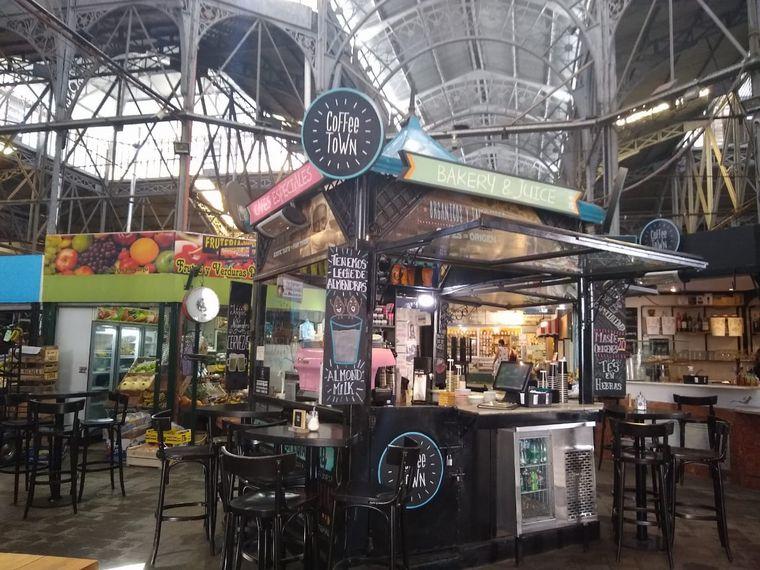 FOTO: El pintoresco Mercado Central de San Telmo.