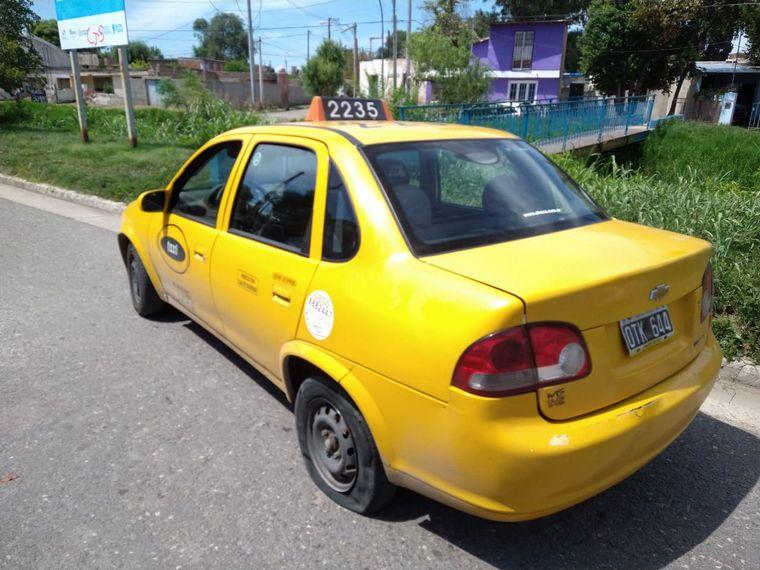 AUDIO: Detuvieron a un ladrón que se había robado un taxi