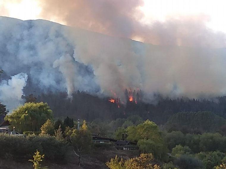 FOTO: El Bolsón sufrió el peor incendio forestal de su historia.