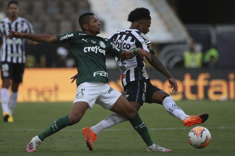 FOTO: Palmeiras le ganó a Santos y se consagró campeón de América