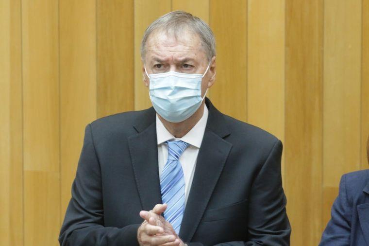 FOTO: Juan Schiaretti abrió el período legislativo 2021.