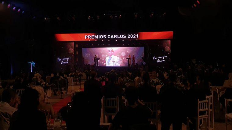 FOTO: Homenaje a Mario Pereyra en los Premios Carlos.