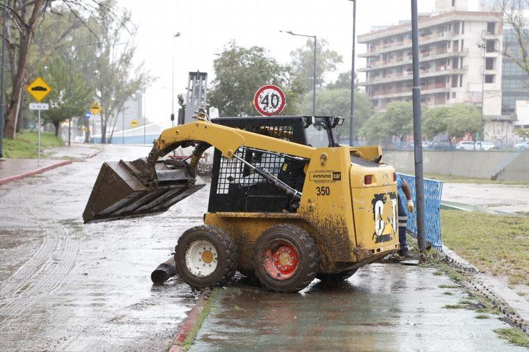 AUDIO: La Costanera permanece cortada tras las intensas lluvias
