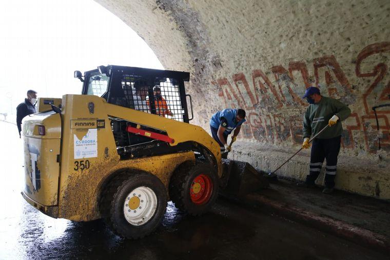 FOTO: La municipalidad ha informado que el personal está trabajando en la limpieza