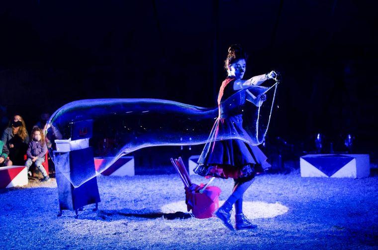 """FOTO: """"La Audacia"""", una atrapante propuesta de circo en La Feliz"""