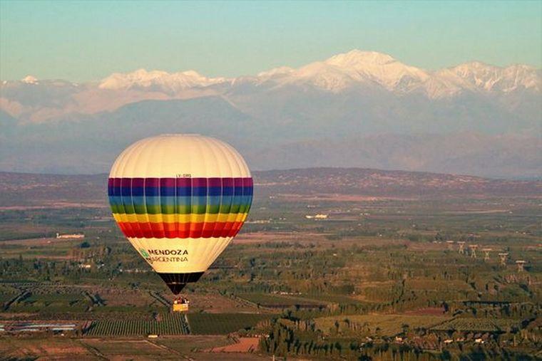 AUDIO: Viaje en globo en Mendoza, una experiencia inigualable