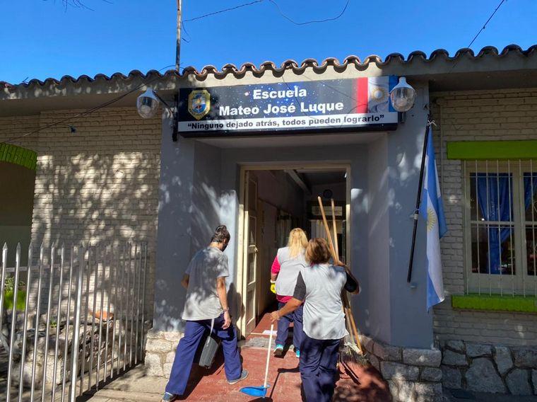 FOTO: Colegios en Córdoba iniciaron la revinculación con alumnos