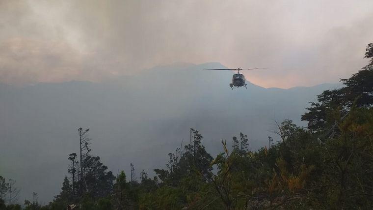 AUDIO: Rescatan a brigadistas cordobeses encerrados por el fuego
