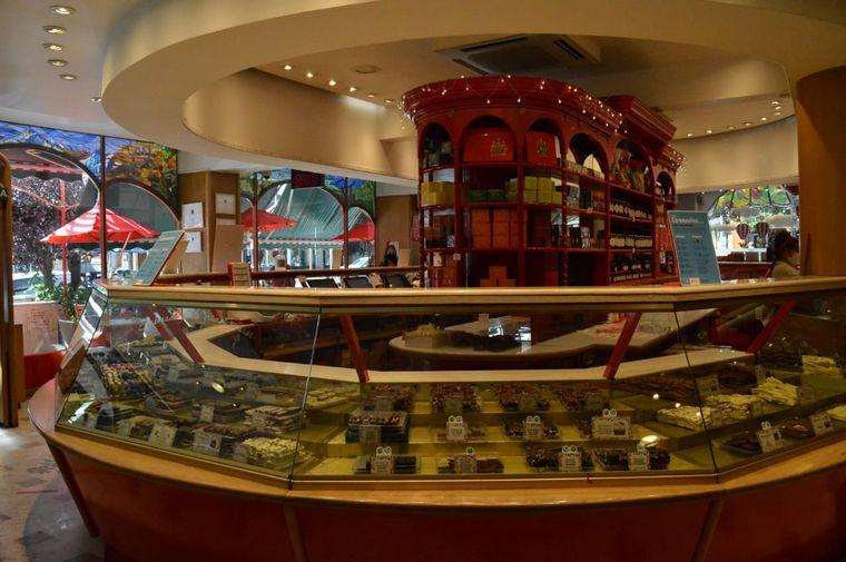 FOTO: Mamuschka, la casa de los chocolates en Bariloche