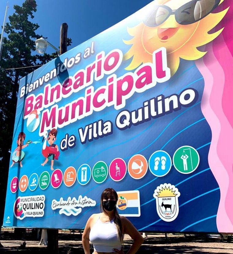FOTO: Balneario de Quilino
