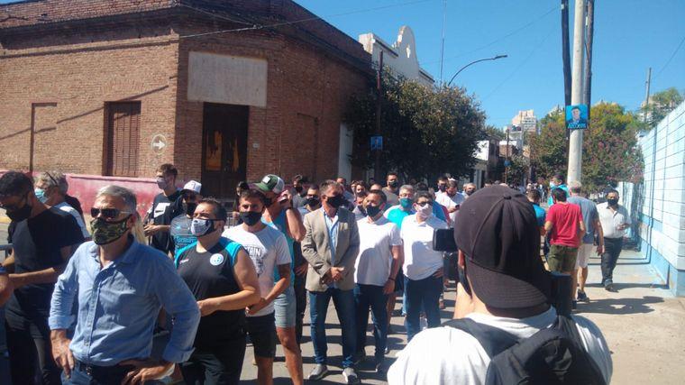 FOTO: Belgrano vota presidente.