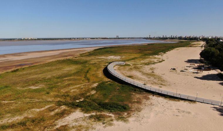 FOTO: El 21 de mayo de 2020 el Paraná había registrado su peor bajada en 50 años.