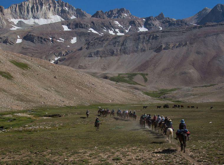 AUDIO: Cruce de los Andes, recreación de una travesía histórica